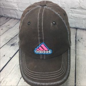 Adidas Brown pink Hat OSFA
